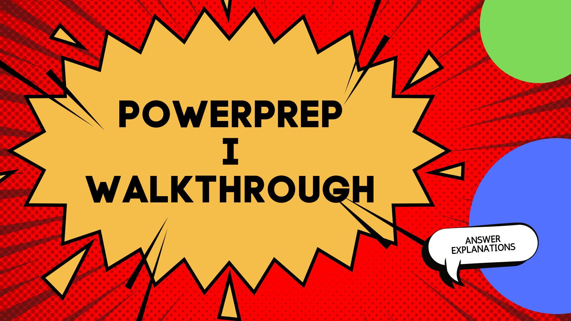PowerPrep 1
